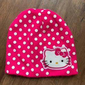 Hello Kitty Polka Dot Beanie